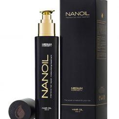 Zdrowe włosy z olejekiem do włosów Nanoil